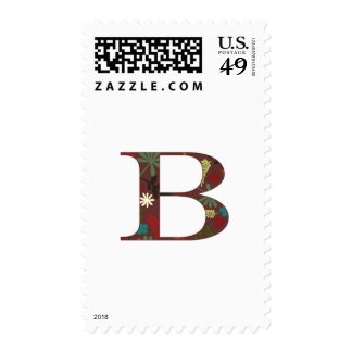 Fall Flora B Postage Stamp
