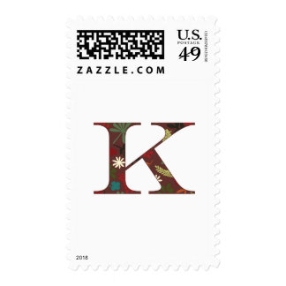 Fall Flora K Postage Stamp