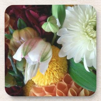 Fall Floral Beverage Coaster