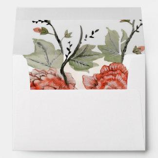 Fall Floral Envelope