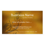 Fall Floral Vines/Leaves Business Card