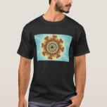 Fall Flower - Fractal Art T-Shirt