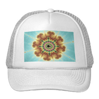 Fall Flower - Fractal Art Trucker Hat