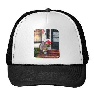 Fall Flowers in Fancy Pots Trucker Hats