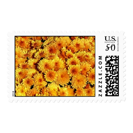 Fall Flowers Stamp