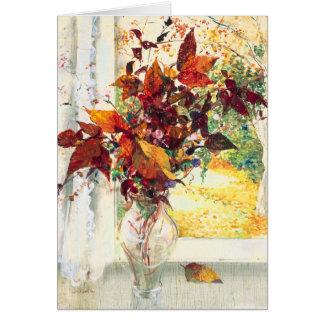 Fall Flowers Stanislav Stanek Card