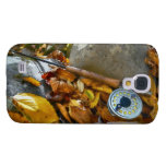 Fall Fly Fishing Rod Galaxy S4 Covers
