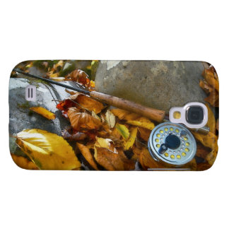Fall Fly Fishing Rod Samsung Galaxy S4 Cover