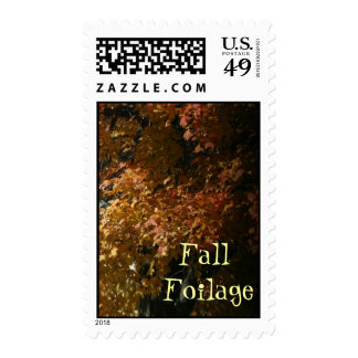 FALL FOILAGE POSTAGE STAMPS