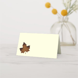 Fall Folded Place Cards