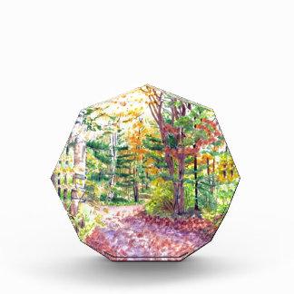 Fall Foliage Acrylic Award