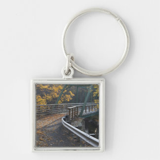 Fall foliage and a bridge over the Millers Keychain