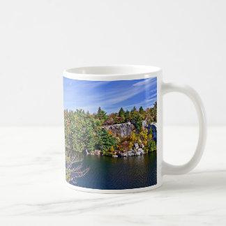 Fall Foliage around Lake Minnewaska Coffee Mug