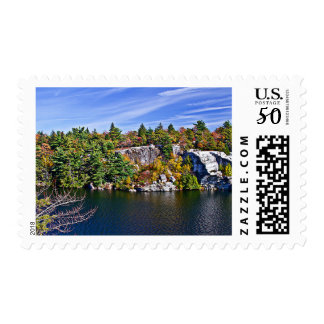 Fall Foliage around Lake Minnewaska Postage