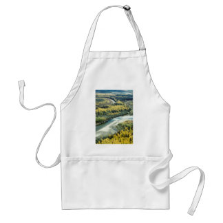 FALL FOLIAGE BRIGHTENS THE LANDSCAPE ADULT APRON