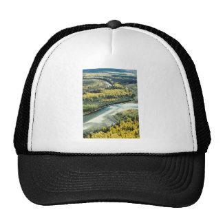 FALL FOLIAGE BRIGHTENS THE LANDSCAPE TRUCKER HAT