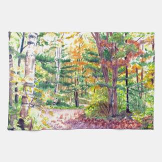 Fall Foliage Hand Towels