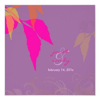 Fall foliage in lavender/ fall/diy background card