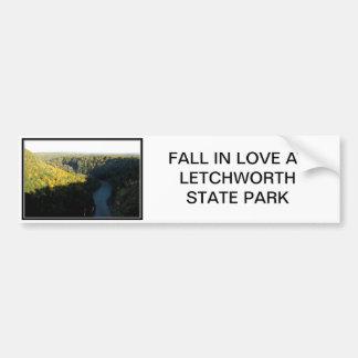Fall Foliage - Letchworth State Park Bumper Sticker