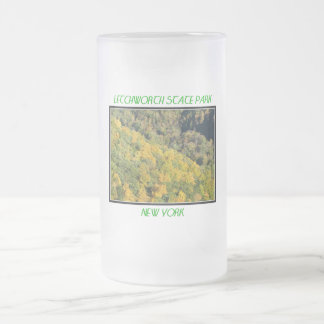 Fall Foliage - Letchworth State Park Frosted Glass Beer Mug