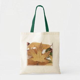 Fall Foliage Maple Leaf Canvas Bag