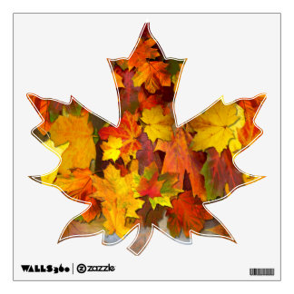 Fall Foliage ~ Maple Leaf Decal Wall Decals