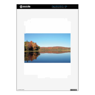 FALL FOLIAGE MEADOW DECAL FOR THE iPad 2