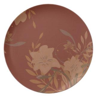 Fall Foliage Plates