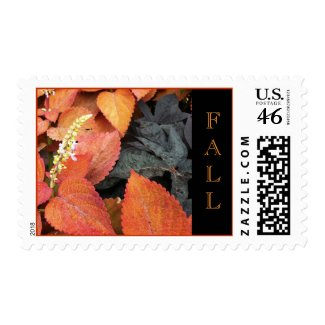 Fall Foliage Postage Stamp