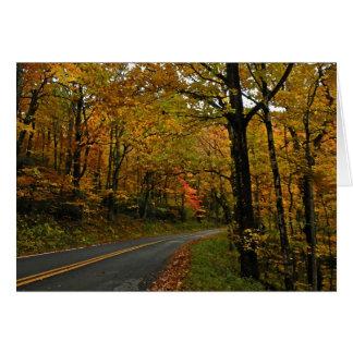 Fall Foliage Thanksgiving Card