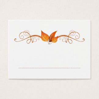 Fall Foliage Wedding Place Card 3