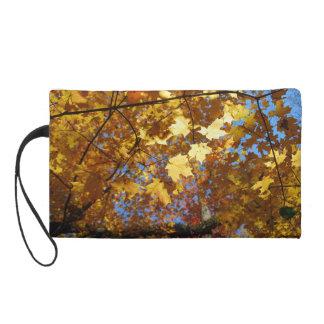 Fall Foliage wristlet