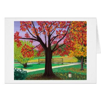 Fall for Autumn notecard