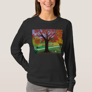 Fall for Autumn women's long-sleeved tee