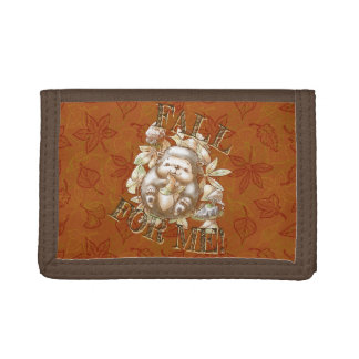 Fall for me! trifold wallet