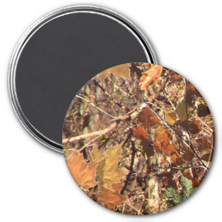 Fall Forest Bush Camouflage Magnet