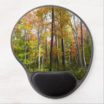 Fall Forest I Autumn Landscape Photography Gel Mouse Pad