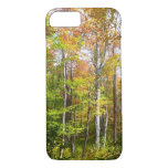 Fall Forest I Autumn Landscape Photography iPhone 7 Case