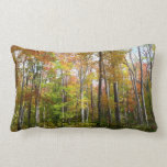 Fall Forest I Autumn Landscape Photography Lumbar Pillow