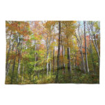 Fall Forest I Autumn Landscape Photography Towel