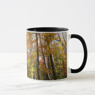 Fall Forest II Autumn Landscape Photography Mug