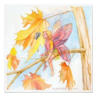 """""""Fall Friends"""" by Chelsea Mcgraw Card"""