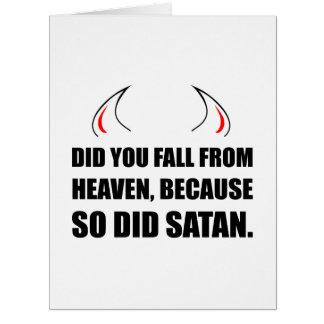 Fall From Heaven Satan Card