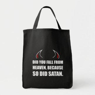Fall From Heaven Satan Tote Bag