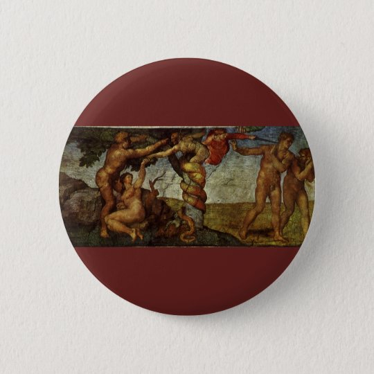 Fall from the Garden of Eden by Michelangelo Button