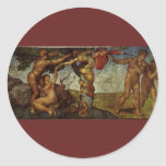 Fall from the Garden of Eden, Fresco, Michelangelo Sticker