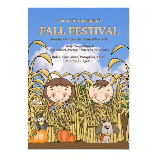 Fall Fun Invitation