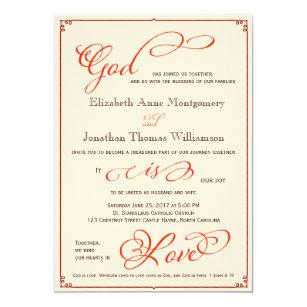 Church Wedding Invitations Zazzle