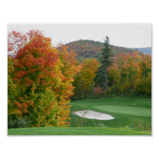 Fall Golf poster