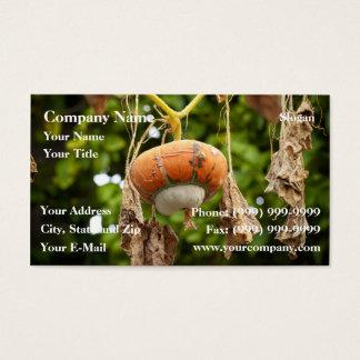 Fall Gourd Business Card